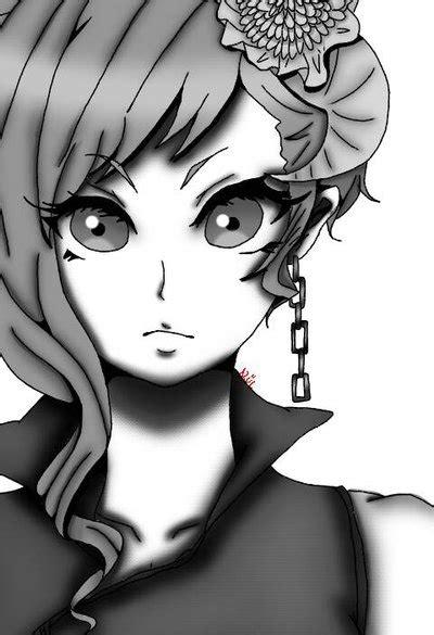 imagenes blanco y negro chicas chica anime en blanco y negro by nagato12345 on deviantart