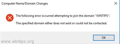 fix   domain    exist