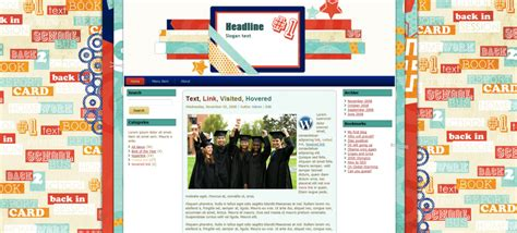 themes wordpress school high school wordpress the cutest blog on the block
