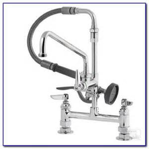 Wall Mount Kitchen Faucets With Sprayer by Wall Mount Tub Faucet With Sprayer Faucets Home Design