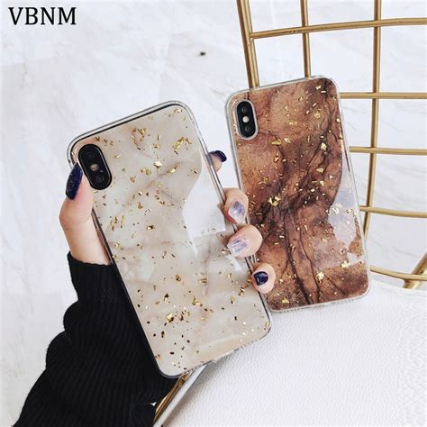 luxury gold foil bling marble phone case  iphone  xs