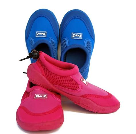 Banz Surf Shoes Pink Size 12 pink uv protective swimming shoes baby banz africa