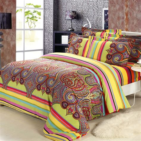 Moroccan Bed Sets Aliexpress Buy 2015 New Brushed Cotton Bohemian Comforter Bedding Sets Boho Style Moroccan