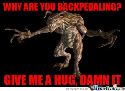 Deathclaw Meme - deathclaws just want hugs by vitor1993 meme center