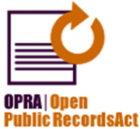 Open Records Act Nj Business Office Request For Records