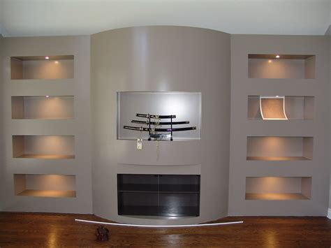wall unit designs decorating the entertainment corner with built in wall