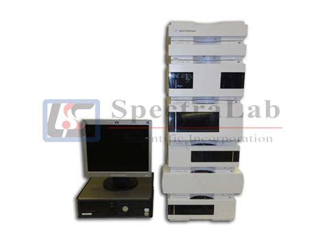 agilent 1200 diode array detector agilent 1200 series hplc system with diode array detector degasser