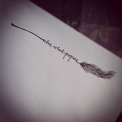 alis volat propriis feather inspriation pinterest