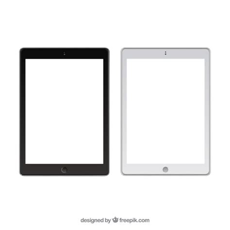 tablet template psd image gallery vector