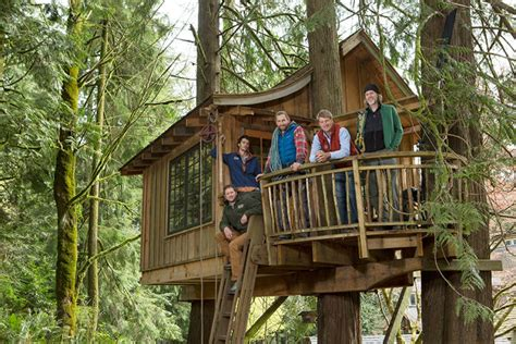 Treehouse Masters Luck O The Cottage by Your Childhood Home The Treehouses Of Quot Treehouse Masters Quot Co Create