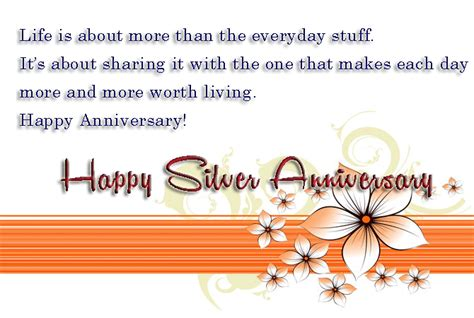 25th wedding anniversary wishes for silver jubilee quotes wedding anniversary wishes