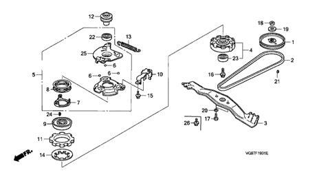 honda parts diagrams honda hrb476c qxe