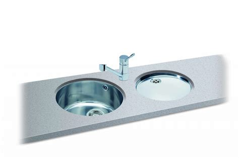 round kitchen sinks carron phoenix carisma 400 round bowl kitchen sinks taps