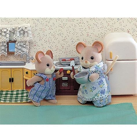 Calico Critter Furniture by Kozy Kitchen Set Calico Critters Furniture Educational