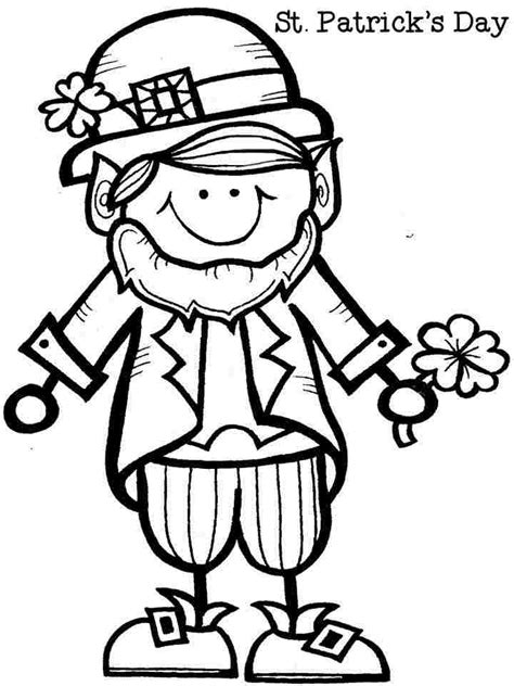 printable leprechaun images free leprechaun coloring pages az coloring pages