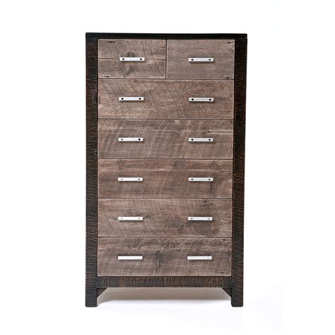 Number Drawer by Graphite 7 Drawer Chest Green Gables