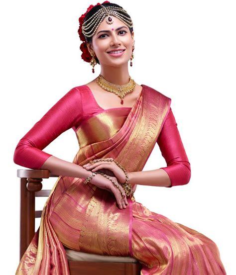 Doniya Plain Blouse Violet High Quality kerala wedding sarees kerala sarees kerala wedding dress