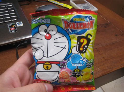 Food Doraemon snack review doraemon gummy snacks kawaii kakkoii sugoi