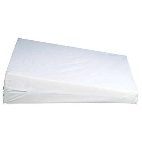 bed bath wedge pillow foam wedge pillow home bed bath bedding basics