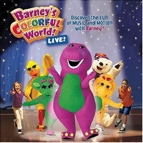 barney colorful world barney misheard song lyrics