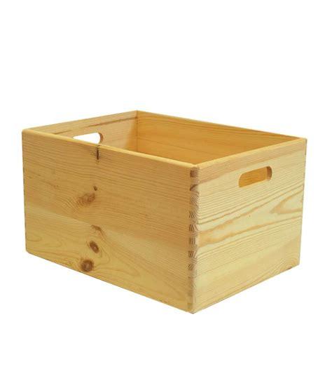 cassetta per legna cassetta scatola in legno quot wood box quot senza coperchio