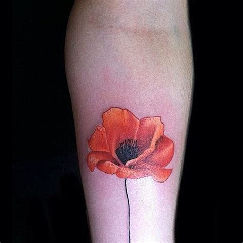 poppy tattoo designs foot the world s catalog of ideas