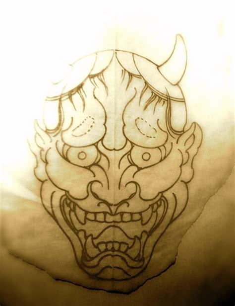 hannya mask tattoo sketch hannya mask tattoo sketch 187 tattoo ideas