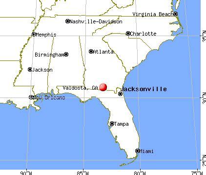 valdosta florida map valdosta ga 31698 profile population maps