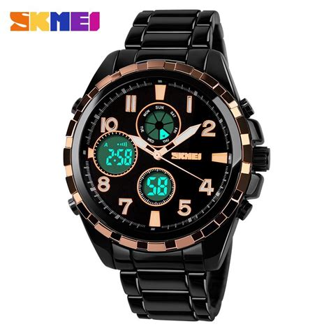 Skmei Casio Sport Led Water Resistant 30m Ad1021 T1310 skmei jam tangan analog digital pria ad1021 golden