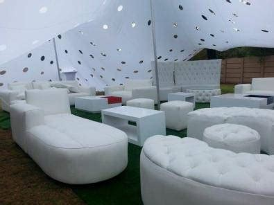 party couches white event couches stretch tents for hire event