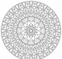 Coloriage &224 Imprimer Mandala Motifs G&233om&233triques Et Cercles  sketch template