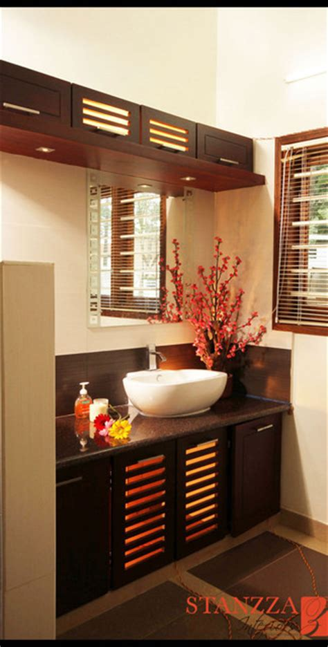Bathroom Vanity Decorating Ideas by Wash Basin Design Modern Dining Room Other Metro