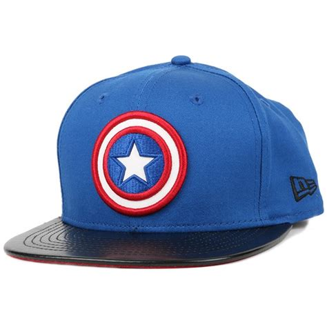 Topi Snapback Captain America Hatsstore 1 captain america block 9fifty snapback new era start cap hatstore