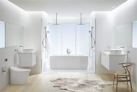 White Bath The White On White Bathroom Trend 3 Ways To Get Inspired