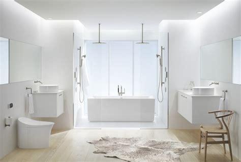 The white on white bathroom trend 3 ways to get inspired kohler ideas