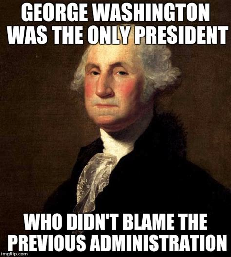 George Meme - george washington imgflip