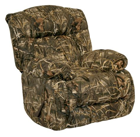 camo recliner chairs laredo max 4 camo rocker recliner from catnapper