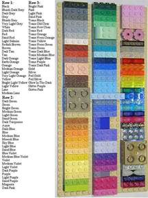 lego colors lego color quot chips quot a lego 174 creation by steven barile
