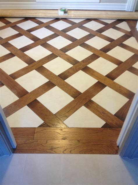 wood tile patterns wood and tile basket weave pattern tile floors