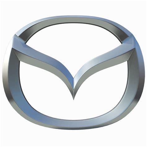 new mazda logo mazda logo 3d model max obj 3ds fbx cgtrader com