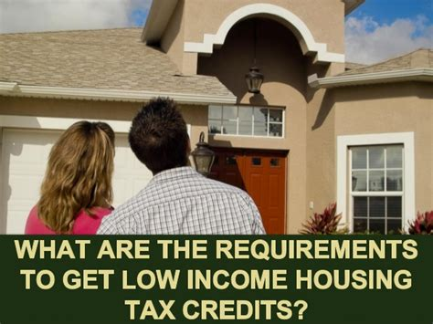 irc section 1060 what are the requirements to get low income housing tax