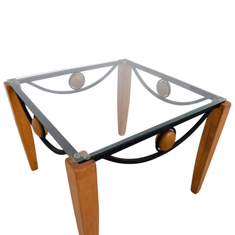 wood and metal end table 86 metal and wood end table tables