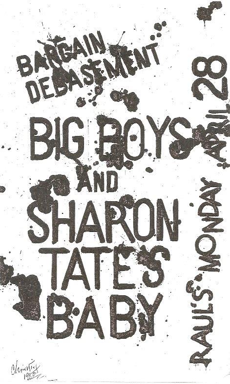 sharon tate baby boy austin texas punk archive from visual vitriol a visual