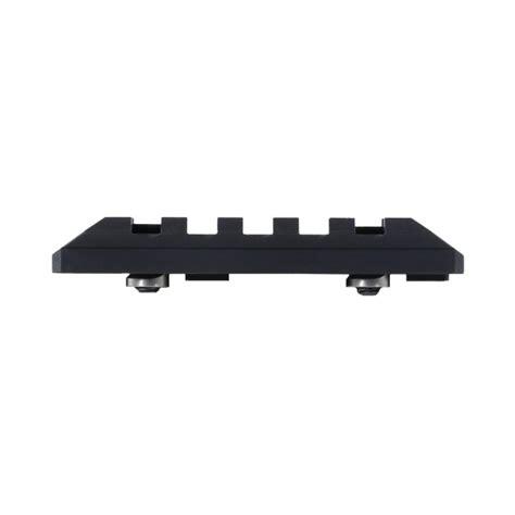 picatinny rail section seekins precision keymod picatinny rail section 5 slot