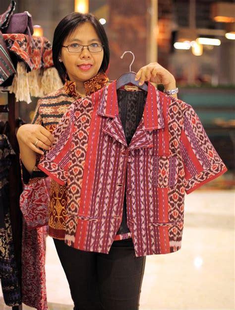 Dress Tenun Ikat Ethnic Tradisional 6 kreasi baju bahan tenun tradisional made in indonesia i