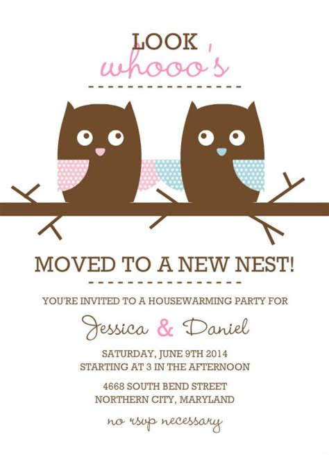 free housewarming invitation card template free downloadable housewarming invitation