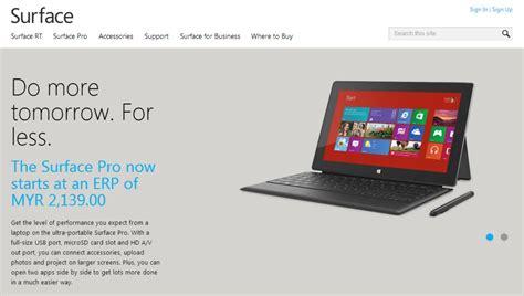 Microsoft Surface Pro Di Malaysia surface pro menerima potongan harga lagi kini bermula