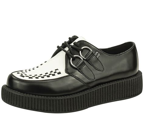tuxedo low sole creepers t u k shoes