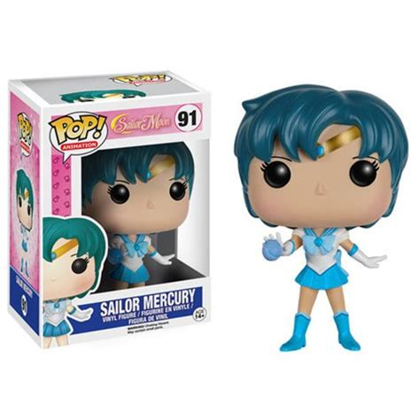 Original Funko Pop Anime Sailor Mercury Vynil Figure sailor moon sailor mercury pop vinyl figure funko sailor moon pop vinyl figures at