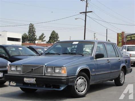 1986 volvo 740 gle for sale in gardena california